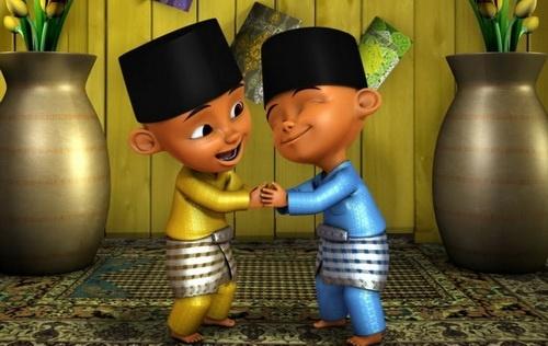 Исламский мультфильм Упин и Ипин