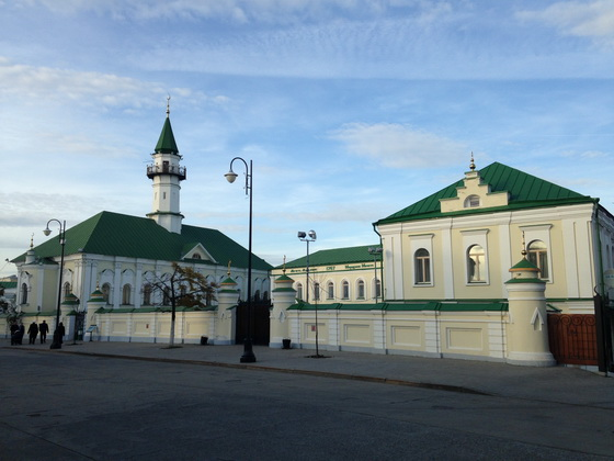 Мечеть аль-Марджани.Старо-Татарскоя слобода