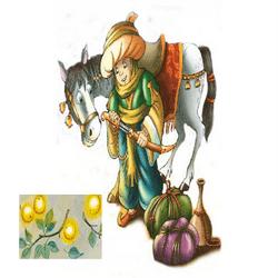 Молодой принц и золотые яблоки
