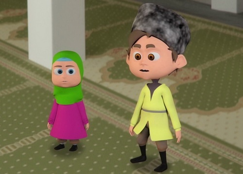 Отважный джигит исламский мультфильм