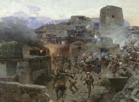 битва в Гунибе