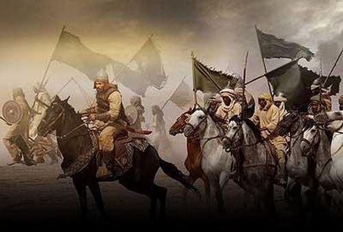 Мусульманские войска сражение