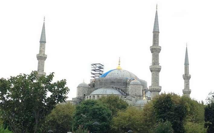Голубая мечеть.Турция
