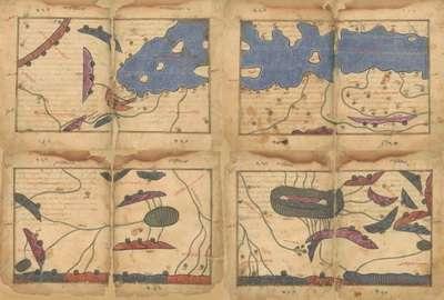 карта Аль-Идриси