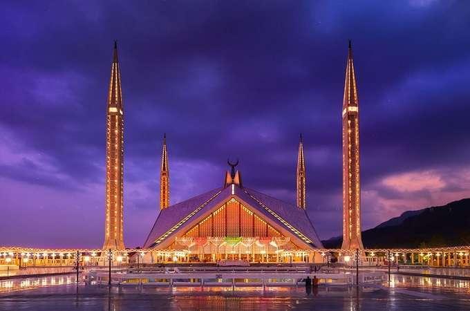 Мечеть Фейсала архитектура