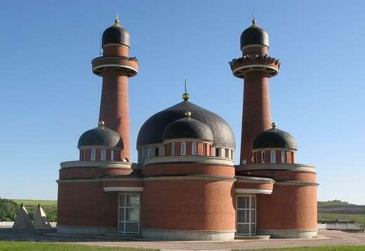 Мечеть Рашида вид со двора