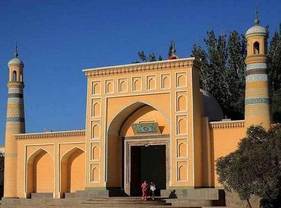 Ид Ках мечеть в Китае