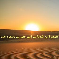 Аль-Мугира ибн Шуба аль-Сакафи
