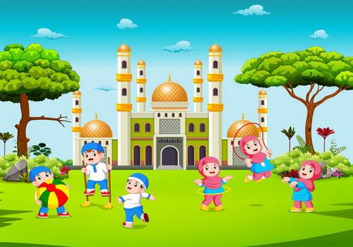 Исламские загадки.Дети