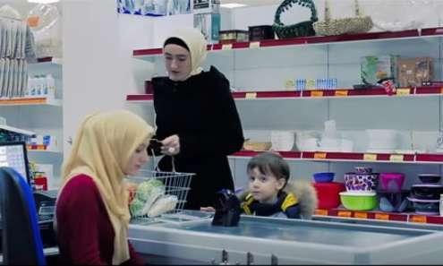 Мусульманка с ребенком