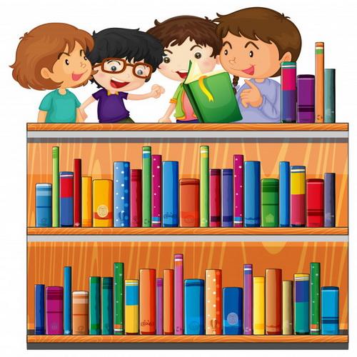 Дети в читальном зале